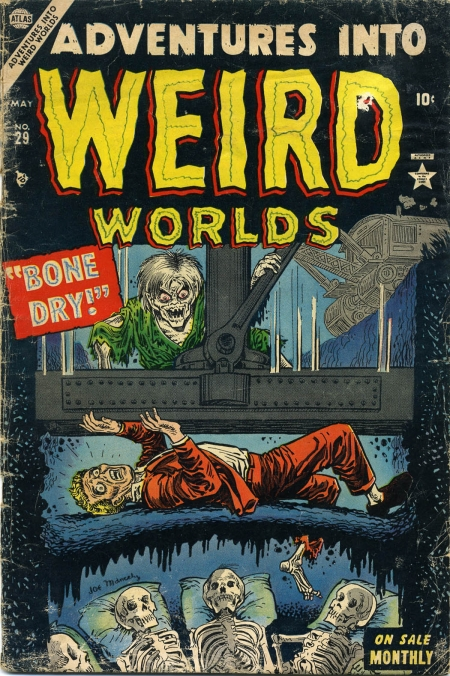 Adventures Into Weird Worlds 29 Cover Image