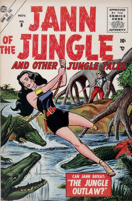 Jann of the Jungle 8 Cover Image