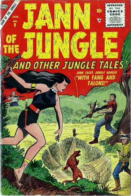 Jann of the Jungle 9 Cover Image
