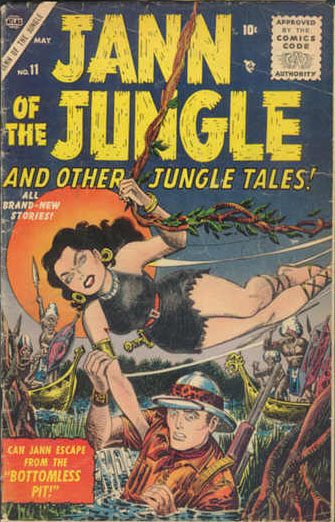 Jann of the Jungle 11 Cover Image