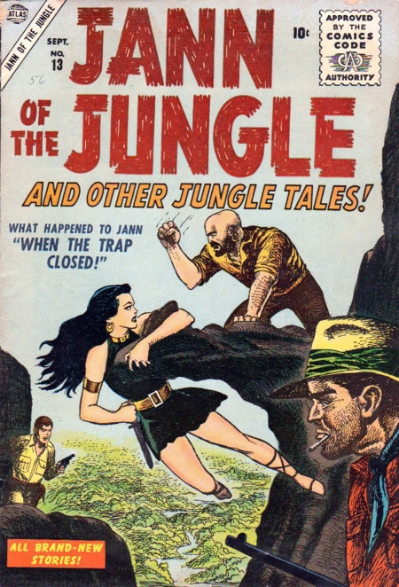 Jann of the Jungle 13 Cover Image