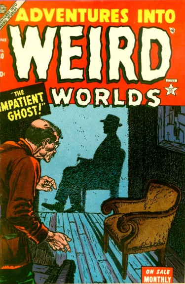Adventures Into Weird Worlds 30 Cover Image