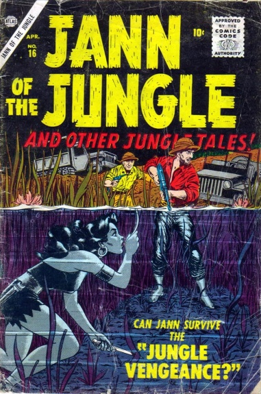 Jann of the Jungle 16 Cover Image