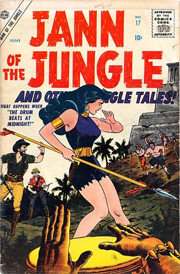 Jann of the Jungle 17 Cover Image
