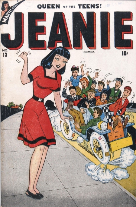 Jeanie Comics 13 Cover Image