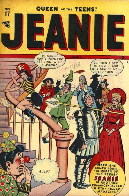 Jeanie Comics 17 Cover Image