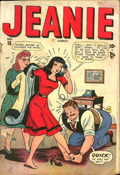 Jeanie Comics 18 Cover Image