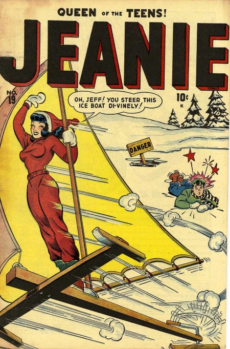 Jeanie Comics 19 Cover Image