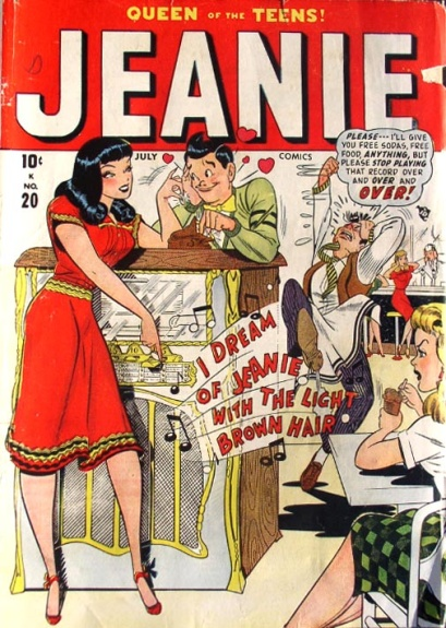 Jeanie Comics 20 Cover Image