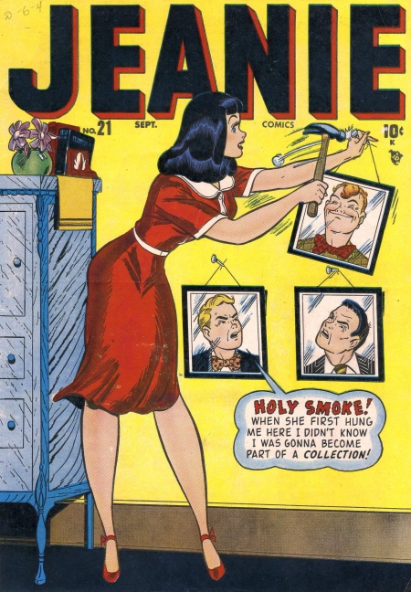 Jeanie Comics 21 Cover Image