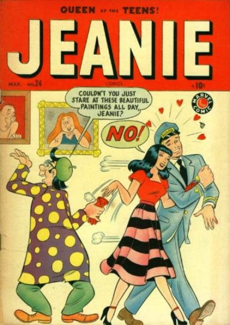 Jeanie Comics 24 Cover Image