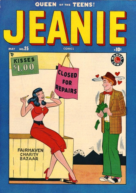 Jeanie Comics 25 Cover Image