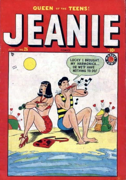 Jeanie Comics 26 Cover Image