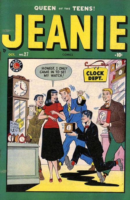 Jeanie Comics 27 Cover Image