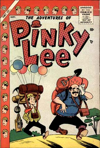 The Adventures Of Pinky Lee 3 Cover Image