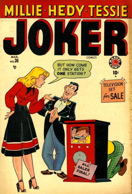Joker Comics 36 Cover Image