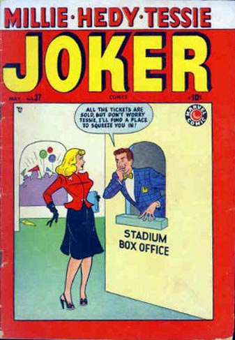 Joker Comics 37 Cover Image