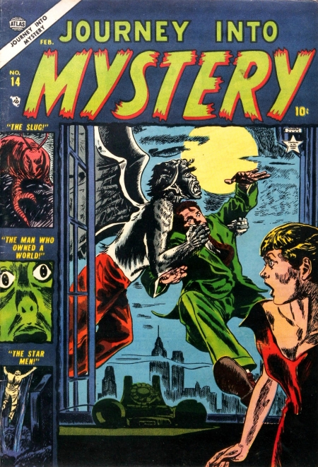 Journey Into Mystery 14 Cover Image