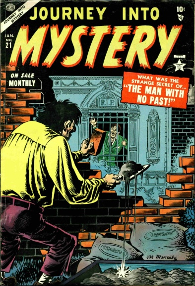 Journey Into Mystery 21 Cover Image