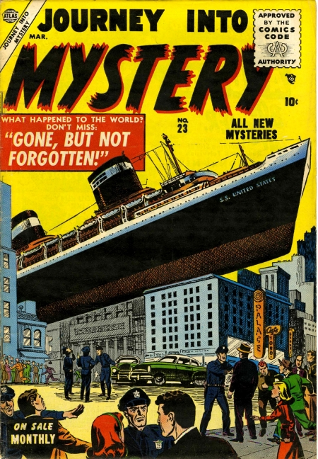 Journey Into Mystery 23 Cover Image