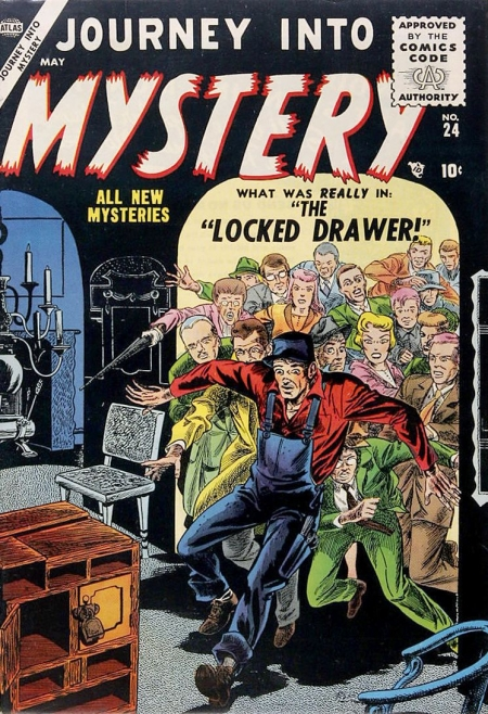 Journey Into Mystery 24 Cover Image