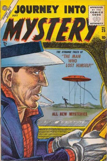 Journey Into Mystery 25 Cover Image