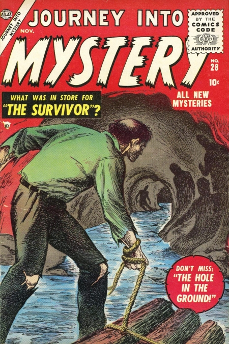 Journey Into Mystery 28 Cover Image