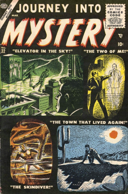 Journey Into Mystery 32 Cover Image