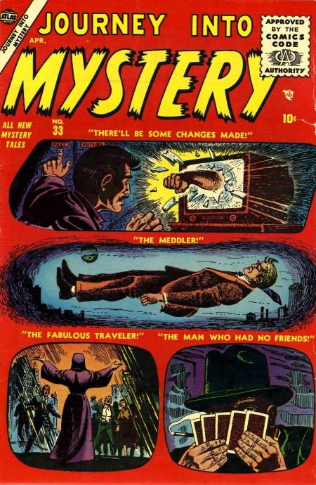 Journey Into Mystery 33 Cover Image
