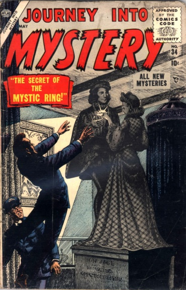 Journey Into Mystery 34 Cover Image
