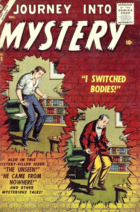 Journey Into Mystery 41 Cover Image