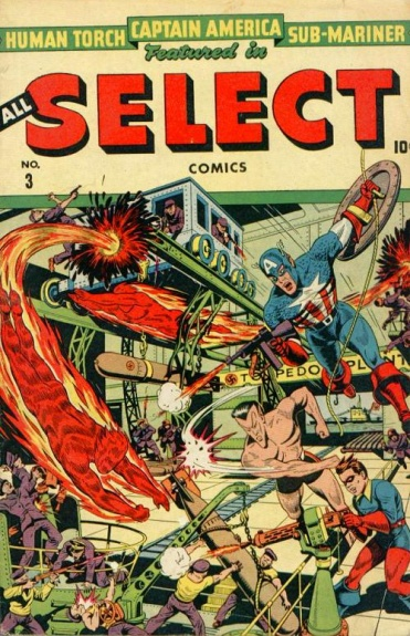 All-Select Comics 3 Cover Image