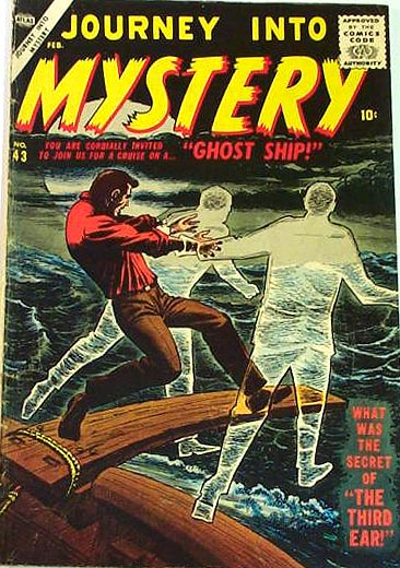 Journey Into Mystery 43 Cover Image