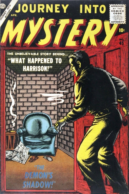 Journey Into Mystery 45 Cover Image