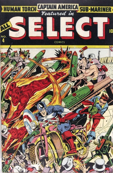 All-Select Comics 4 Cover Image