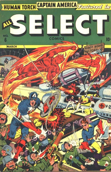 All-Select Comics 6 Cover Image