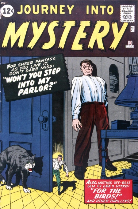 Journey Into Mystery 80 Cover Image