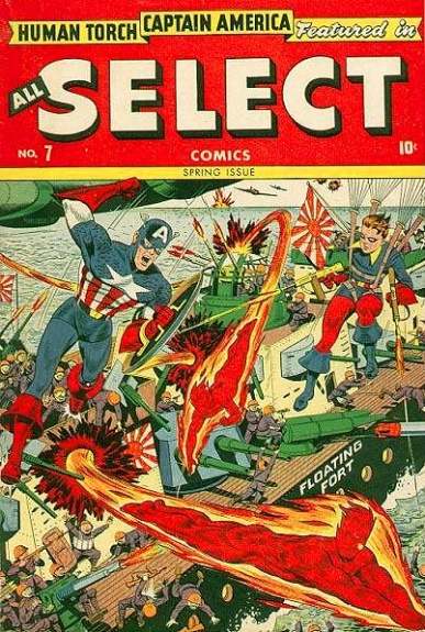 All-Select Comics 7 Cover Image