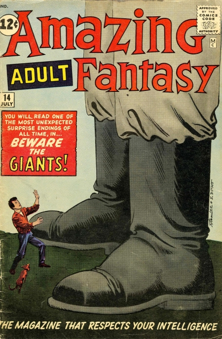 Amazing Adult Fantasy 14 Cover Image