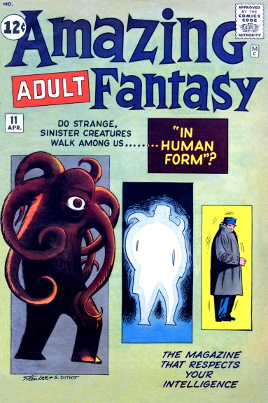 Amazing Adult Fantasy 11 Cover Image