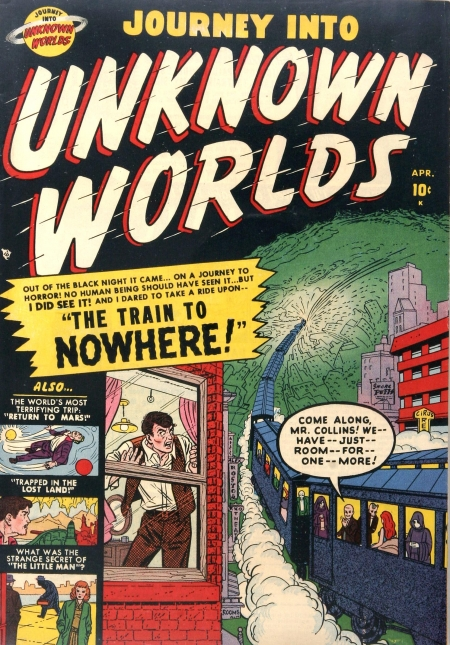 Journey Into Unknown Worlds 4 Cover Image