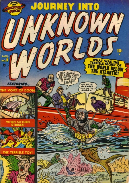 Journey Into Unknown Worlds 6 Cover Image