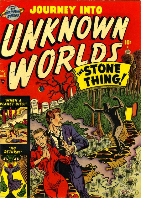 Journey Into Unknown Worlds 8 Cover Image