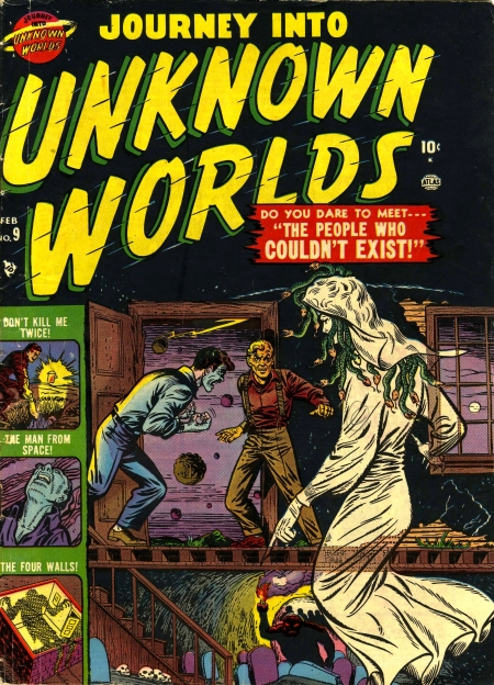Journey Into Unknown Worlds 9 Cover Image