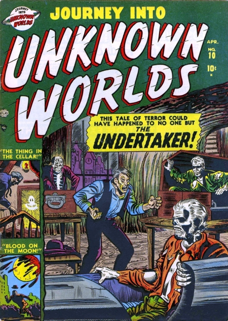 Journey Into Unknown Worlds 10 Cover Image