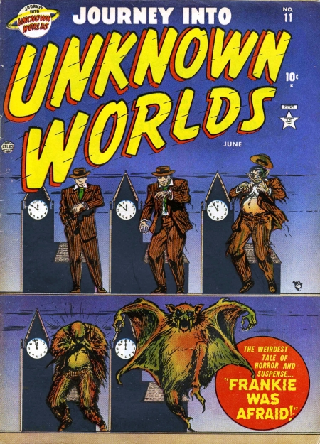 Journey Into Unknown Worlds 11 Cover Image