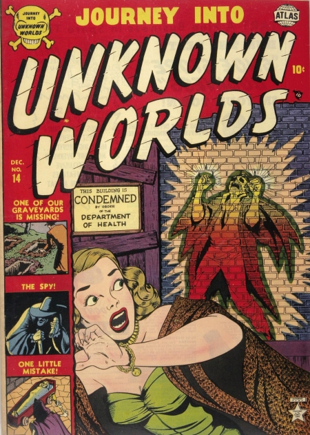 Journey Into Unknown Worlds 14 Cover Image