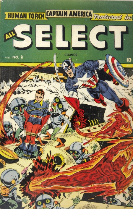 All-Select Comics 9 Cover Image