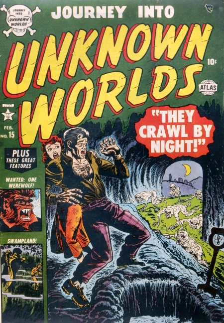 Journey Into Unknown Worlds 15 Cover Image