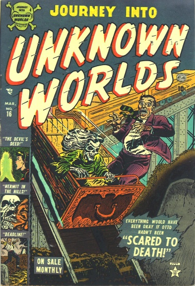 Journey Into Unknown Worlds 16 Cover Image